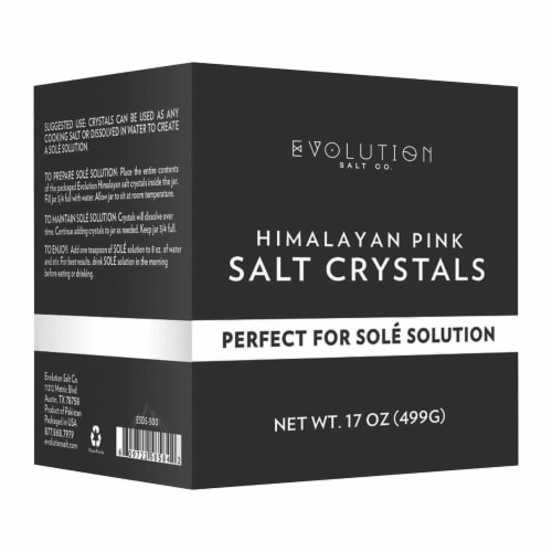 Evolution Salt Co. Sole Refill Crystals Perspective: front