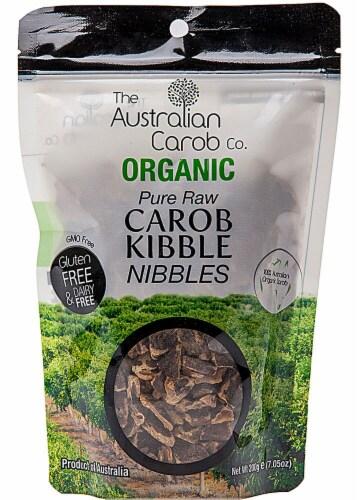 Australian Carob  Organic Carob Kibble Nibbles Perspective: front