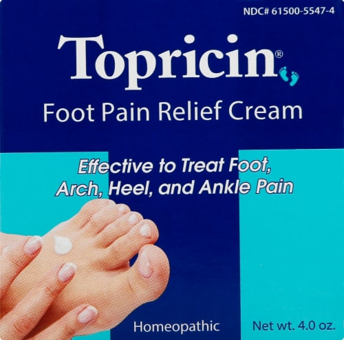 Topricin Foot Therapy Cream Perspective: front