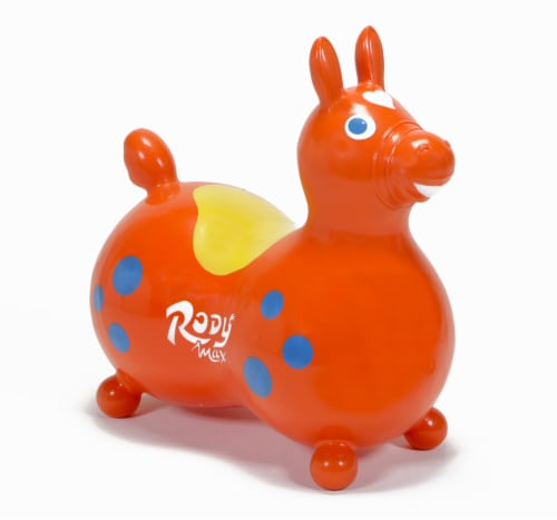 Gymnic Rody Horse Max Hopper - Orange Perspective: front