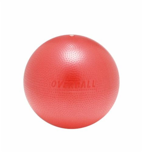 Gymnic Over Ball - Red Perspective: front