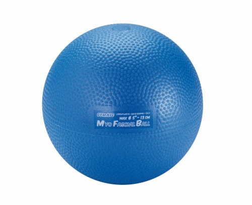 Gymnic Myo Fascial Ball - Blue Perspective: front
