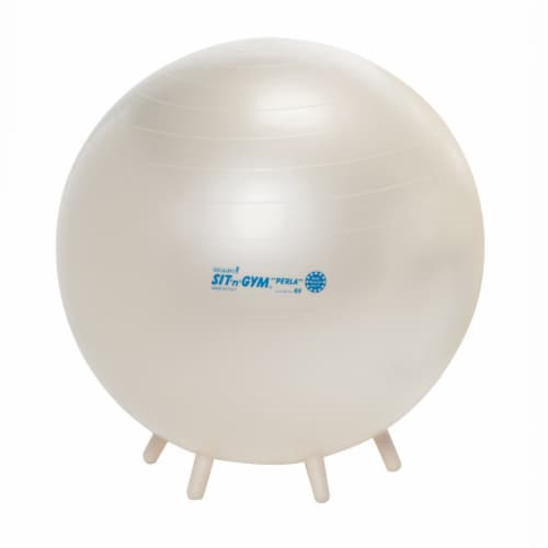 Gymnic Sit'n'Gym  Ball - White Perspective: front