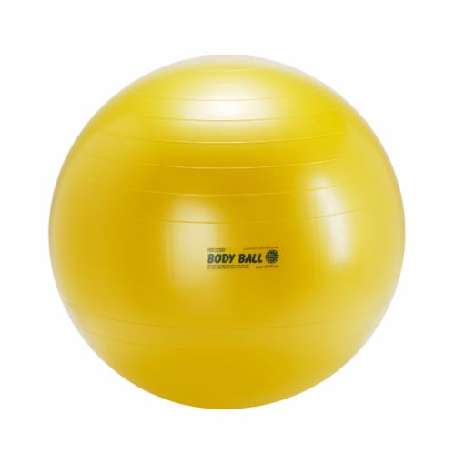 Gymnic Body Exercise Ball - Yellow Perspective: front