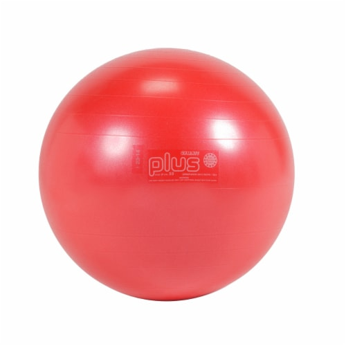 Gymnic Plus Fitness Ball - Red Perspective: front