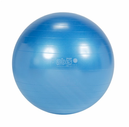 Gymnic Plus 26 Inch Fitness Ball - Blue Perspective: front