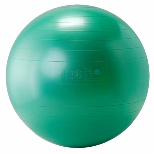 Gymnic Plus Fitness Ball - Green Perspective: front