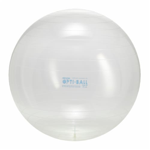 Gymnic Fitness Opti Ball - Clear Perspective: front