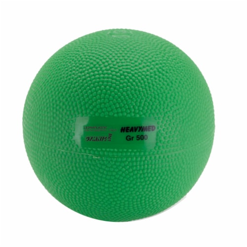 Gymnic Heavy Med 500 Exercise Ball Perspective: front