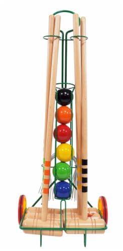 Londero Croquet with Trolley Perspective: front
