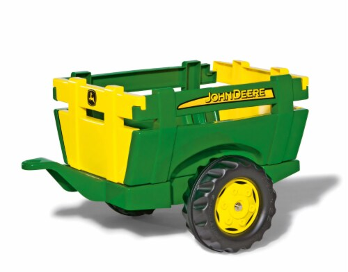 KETTLER John Deere Farm Trailer - Green/Yellow Perspective: front