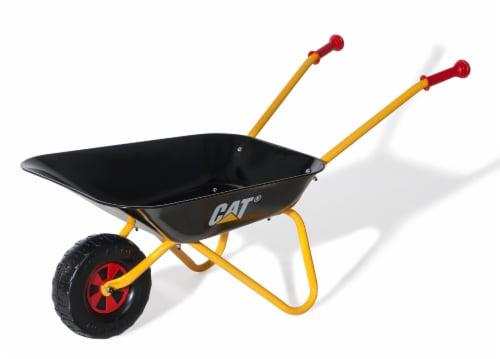 KETTLER Caterpillar Wheelbarrow - Black/Yellow Perspective: front