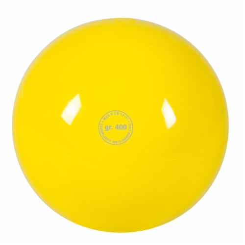 Gymnic Ritmic Ball - Yellow Perspective: front