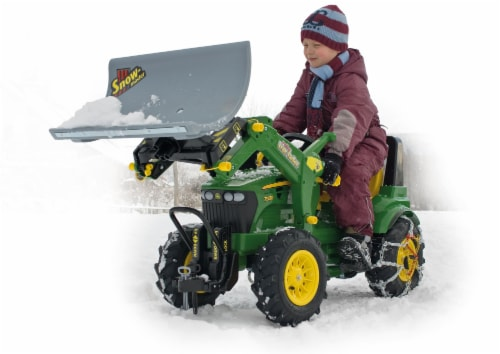 Rolly Toys Snow Master Snow Plow Accessory Toy Perspective: front