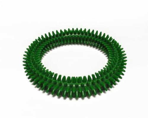 Gymnic Aku Textile Ring - Green Perspective: front