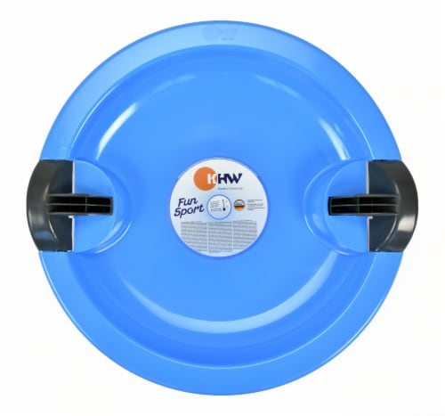 KETTLER Fun UFO Sled - Blue Perspective: front