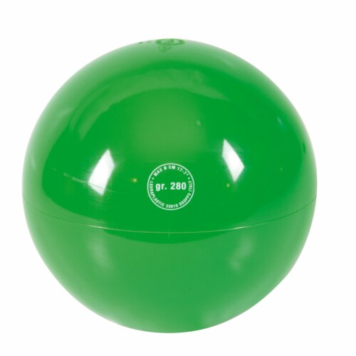 Gymnic Ritmic 280 Ball - Green Perspective: front
