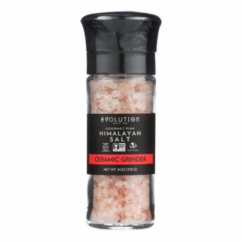 Evolution Salt Gourmet Salt - Grinder - 4 oz - Pack of 3 Perspective: front