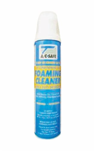 AC Safe Air Conditioner & Coil Cleaner 19 oz. Foam - Case Of: 1; Perspective: front