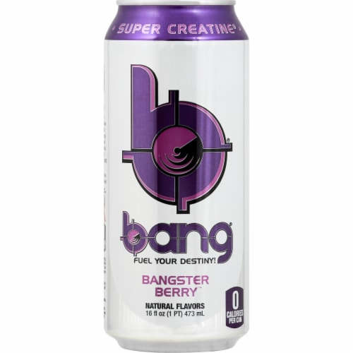 Bang Bangster Berry Energy Drink Perspective: front