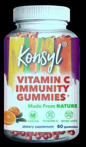Konsyl Vitamin C Immunity Gummies Perspective: front