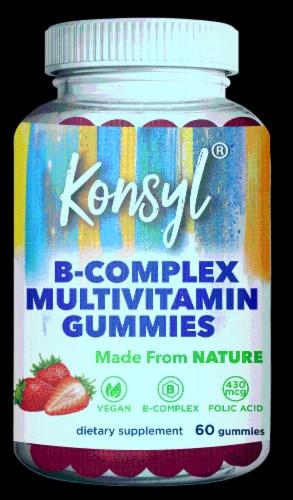 Konsyl B-Complex Multivitamin Gummies Perspective: front