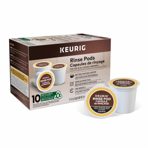 Keurig® Rinse Pod Capsule Perspective: front