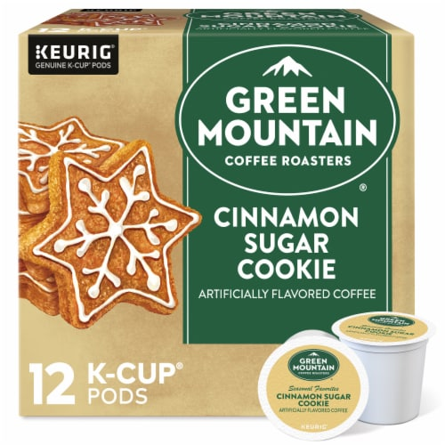 Green Mountain Coffee Cinnamon Sugar Cookie K-Cup Pods Perspective: front
