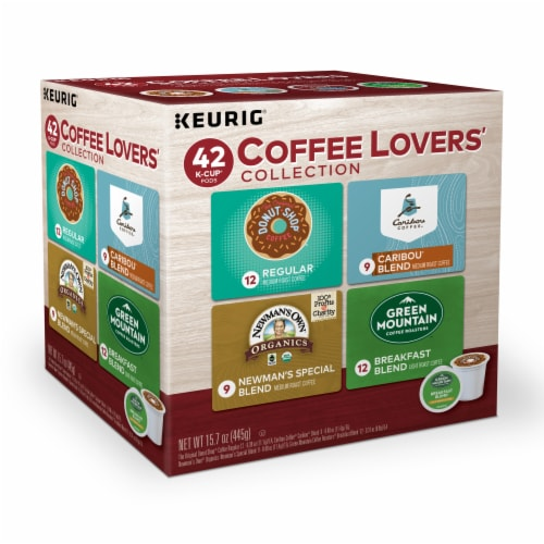 Keurig Coffee Lovers' Collection K-Cup Variety Pack 42 Count Perspective: front