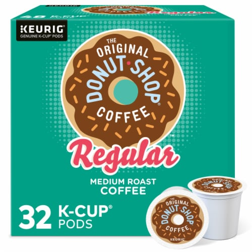 The Original Donut Shop Coffee Regular K-Cups Medium Roast Perspective: front
