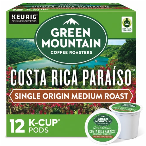 Green Mountain Costa Rica Coffee K-Cup Pods Perspective: front