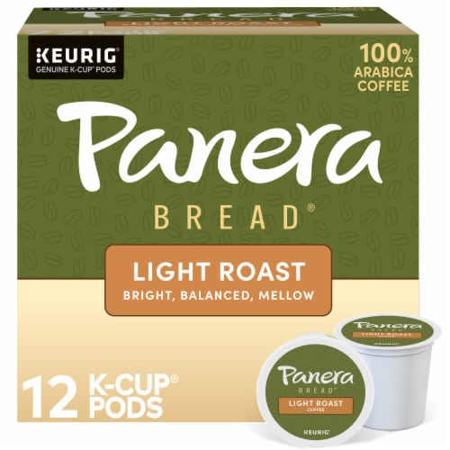 Panera Bread at Home Light Roast Coffee K-Cup Pods Perspective: front