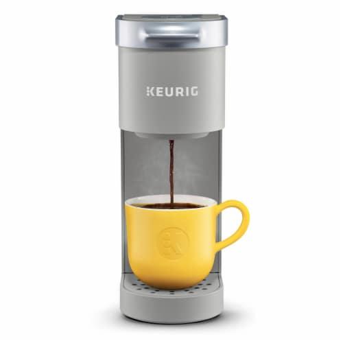 Keurig® K-Mini™ Studio Gray Single Serve Coffee Maker Perspective: front