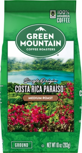 Green Mountain Coffee Roasters Costa Rica Paraiso Medium Roast Ground Coffee Perspective: front