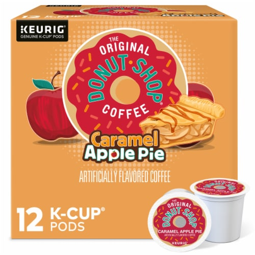 The Original Donut Shop® Caramel Apple Pie Coffee K-Cup Pods Perspective: front