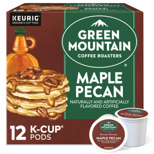 Green Mountain Coffee Limited Edition Maple Pecan Coffee K-Cup Pods Perspective: front