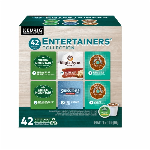Keurig Entertainers' Collection K-Cup Variety Pack Perspective: front
