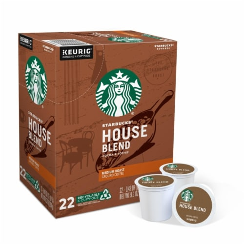 Keurig Starbucks Cocoa and Toffee Coffee K-Cups 22 pk - Case Of: 1; Perspective: front