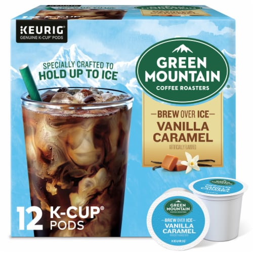Green Mountain Coffee Roasters Brew Over Ice K-Cup Pods Perspective: front