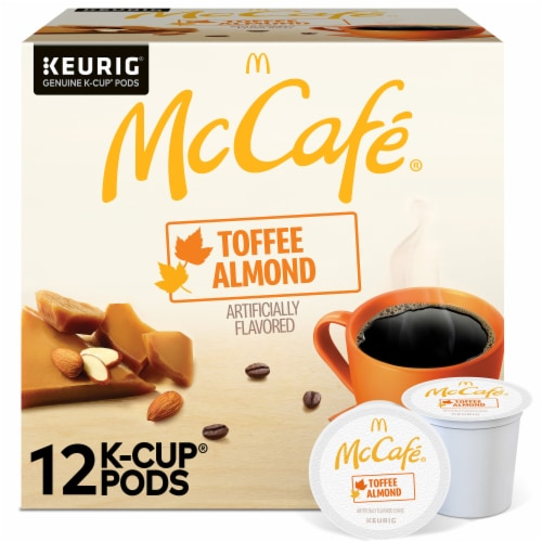 McCafe® Toffee Nut K-Cup Pods Perspective: front
