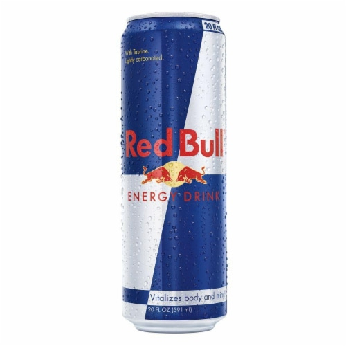 Red Bull Energy Drink Perspective: front