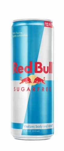 Red Bull Sugar Free Energy Drink Perspective: front