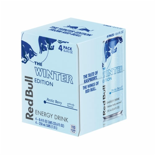 Red Bull The Winter Edition Arctic Berry Energy Drink Perspective: front