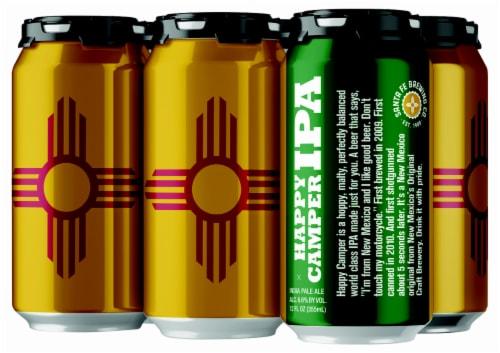 Santa Fe Brewing Co. Happy Camper IPA Perspective: front