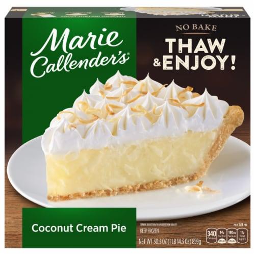 Marie Callender's Coconut Cream Pie Perspective: front