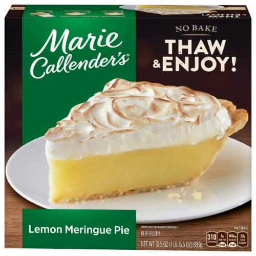 Marie Callender's Lemon Meringue Pie Frozen Dessert Perspective: front