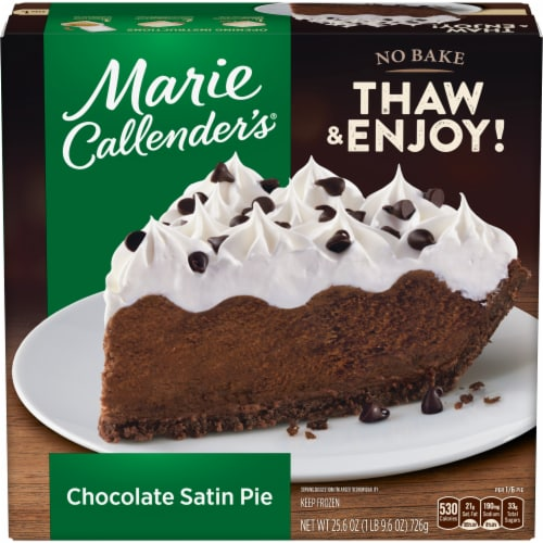 Marie Callender's Chocolate Satin Pie Perspective: front