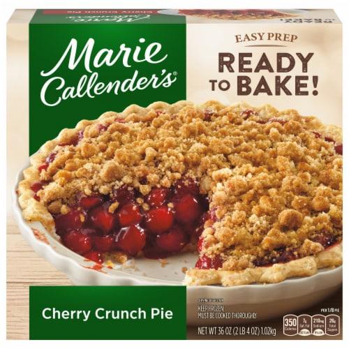 Marie Callender's Cherry Crunch Pie Frozen Dessert Perspective: front