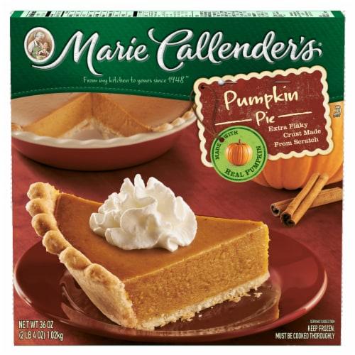 Marie Callender's Pumpkin Pie Perspective: front