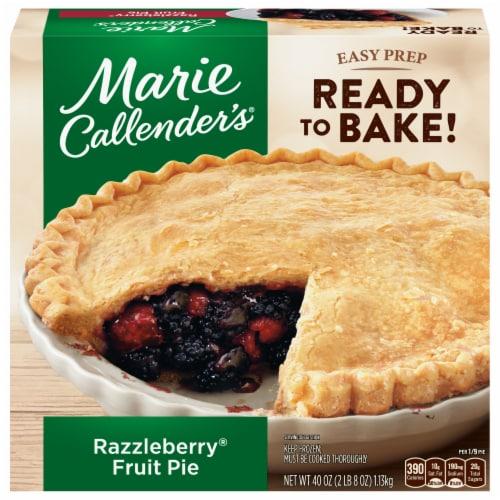 Marie Callender's Razzleberry Fruit Pie Perspective: front
